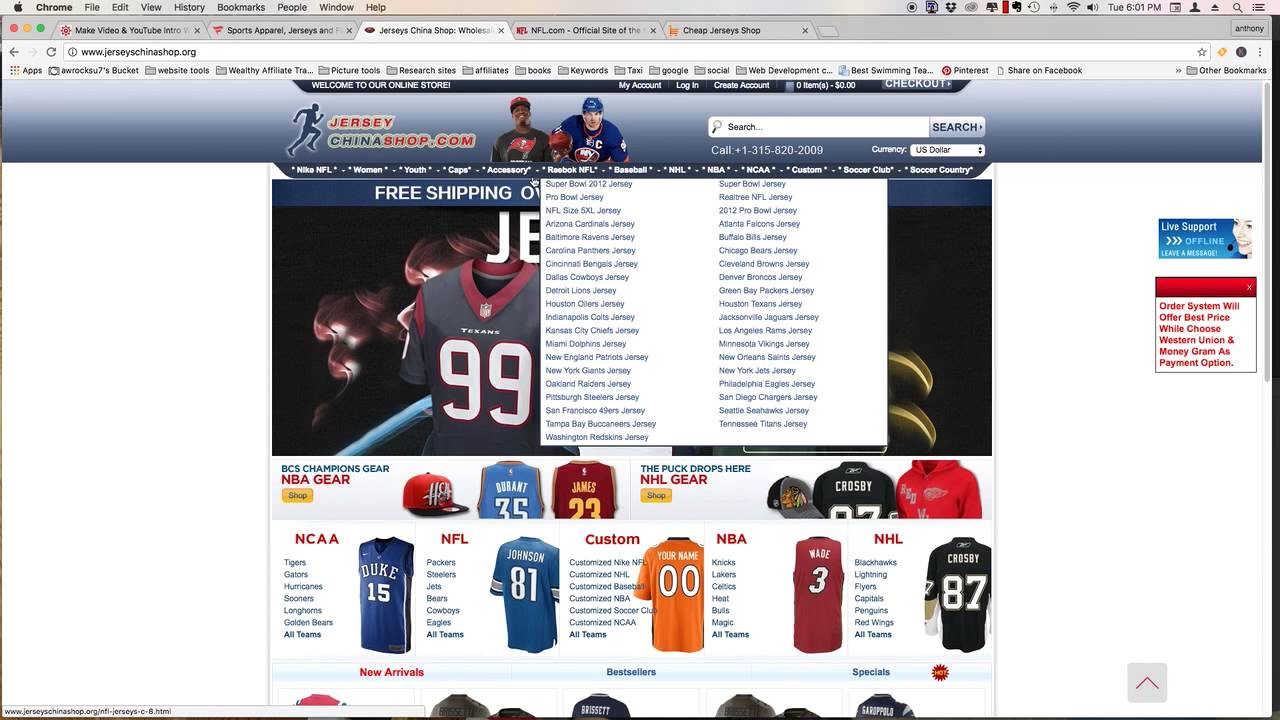 Rooting out the Fake Nfl Jersey Websites