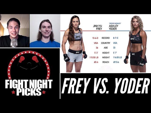 UFC Fight Night: Jinh Yu Frey vs. Ashley Yoder Prediction
