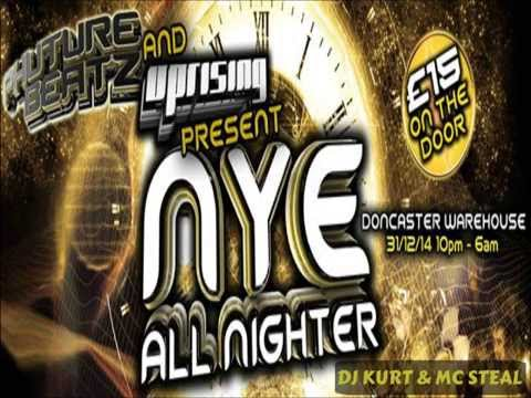 DJ KURT & MC STEAL - LIVE AT PHUTURE BEATZ VS UPRISING - NYE 2014