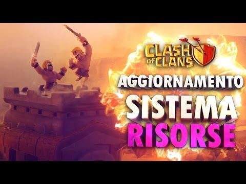 CLASH OF CLANS Aggiornamento Bonus Stella, Tesoreria e Carrello Bottino (vedi descrizione)