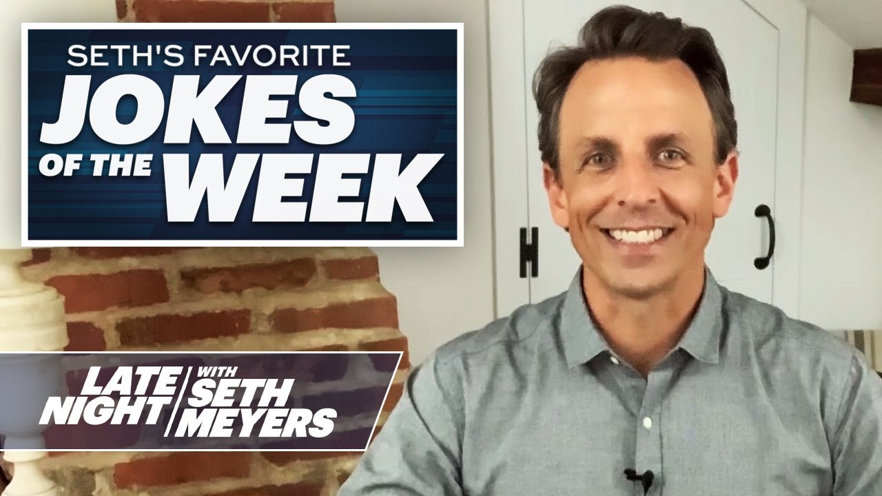 Seth's Favorite Jokes of the Week: John Bolton's Memoir, Trump Visits the US-Mexico Border