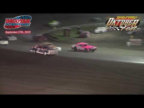 Dacotah Speedway WISSOTA Street Stock A-Main (Oktoberfest) (9/27/19)