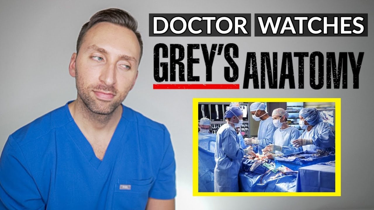 DOCTOR Reacts to GREY'S ANATOMY – Medical TV Drama Review #MedicalRadiology