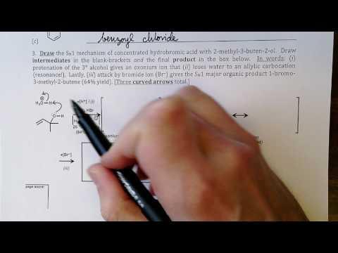 CHE 232 - Exam II 3.3.17 - Written Portion Review
