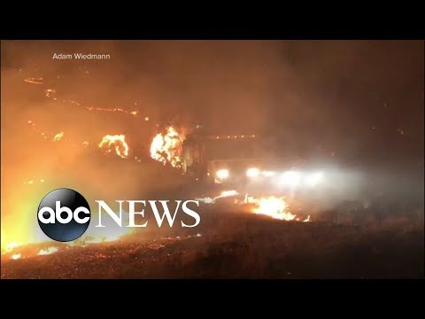New evacuation orders in California as wildfires continue | ABC News