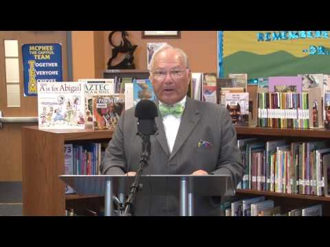 News Conference: Partnership Connects LPS Students to City Libraries