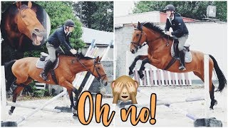 MY DAD RIDES MY HORSE! // I wish this was clickbait...