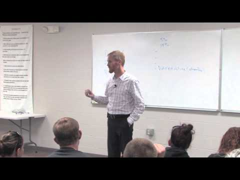 Dr. Todd Carran 6 of 6 Lectures: Smoking