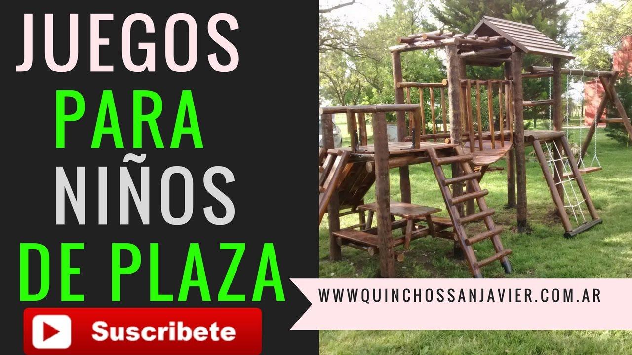 Mangrullo Infantil De Madera Para Ninos Juegos De Plaza Y Parques