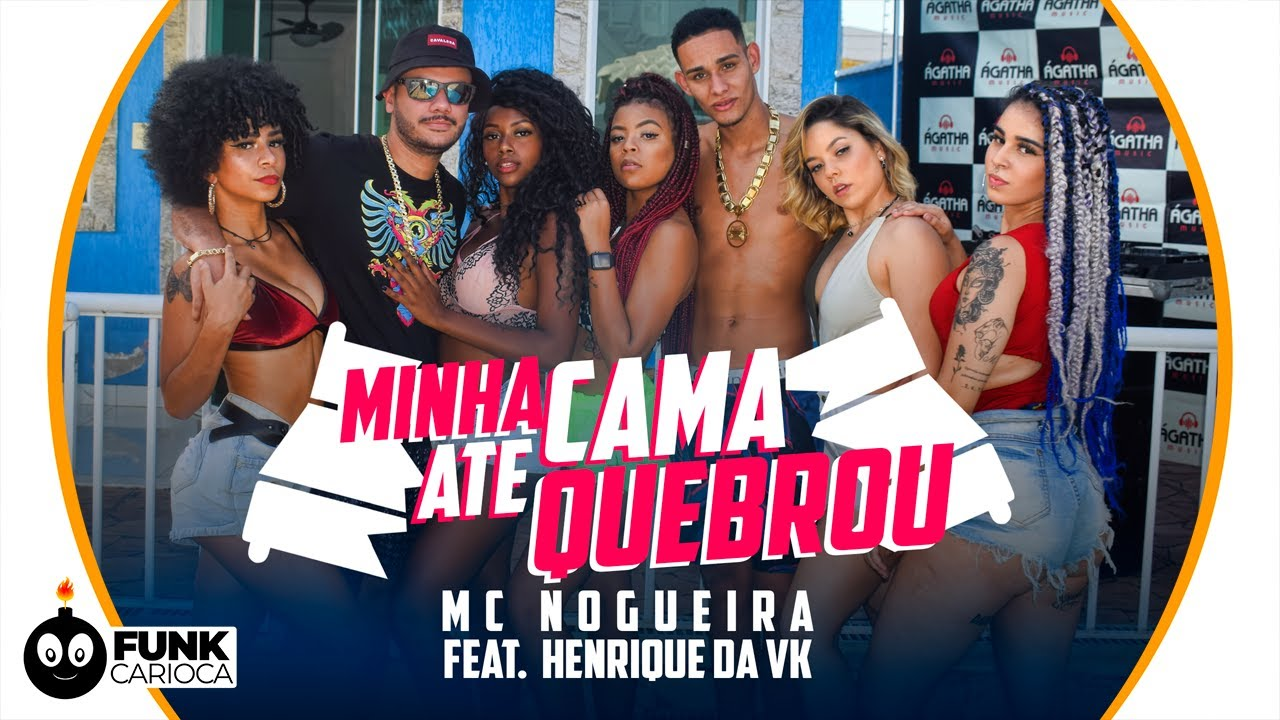 MC Nogueira & DJ Henrique da VK - Minha Cama Até Quebrou (Peixinho Filmes)