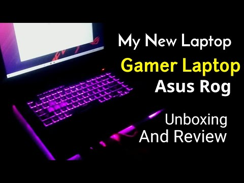Unboxing and review best gaming laptop Asus ROG Strix G Core i5 9th Gen | best gamer laptop 2019