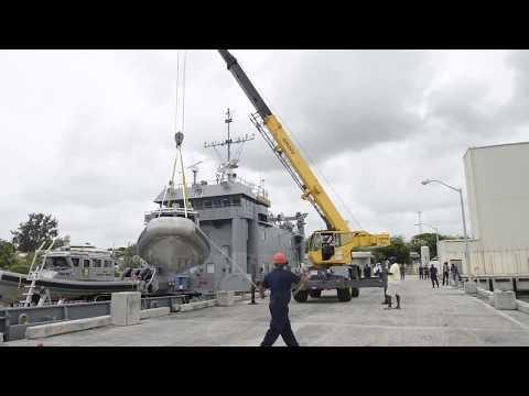 33-foot Interceptor Response Boats Delivered by USAV New Orleans