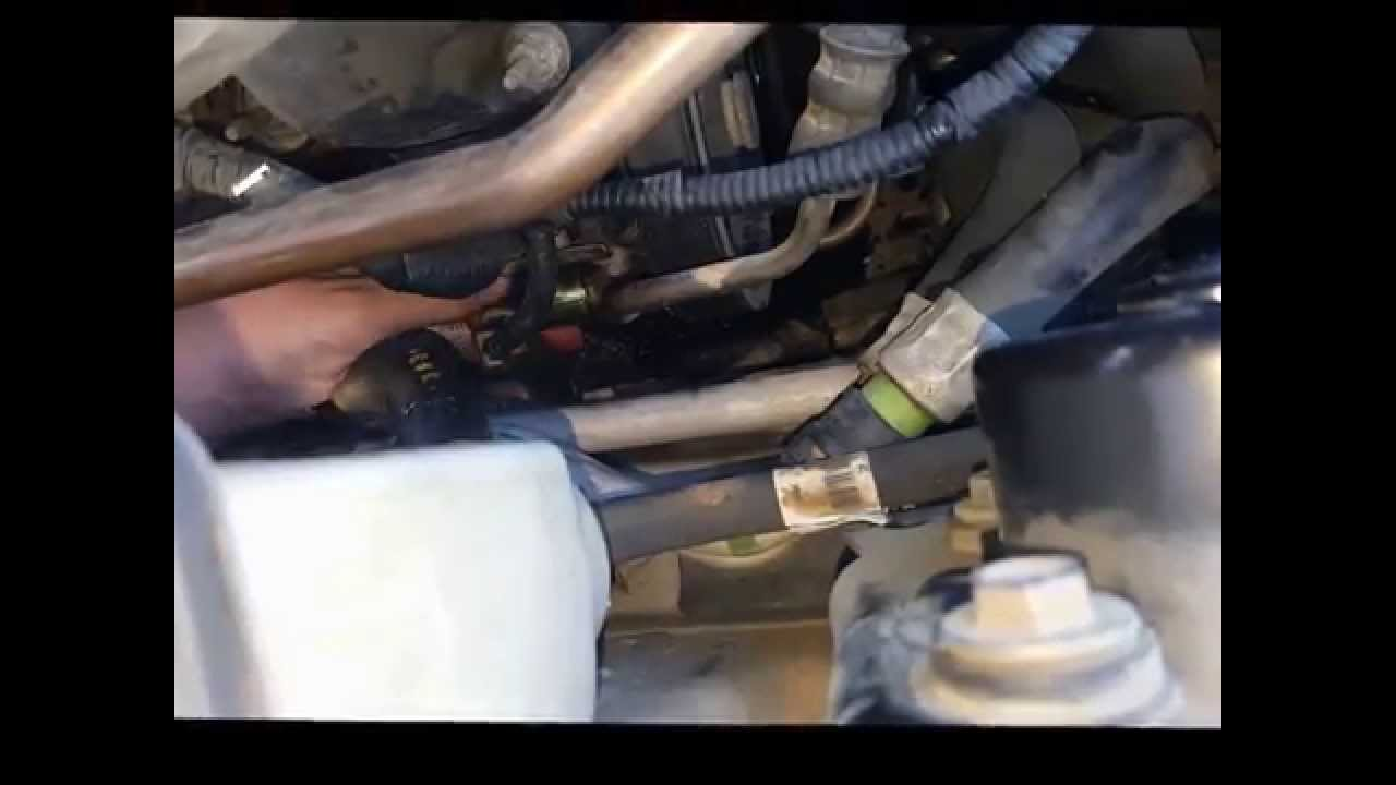 Lincoln Ls Hydraulic Actuator Replacement Youtube How To Wire Electric Fan Fuse Box On 2001 V8