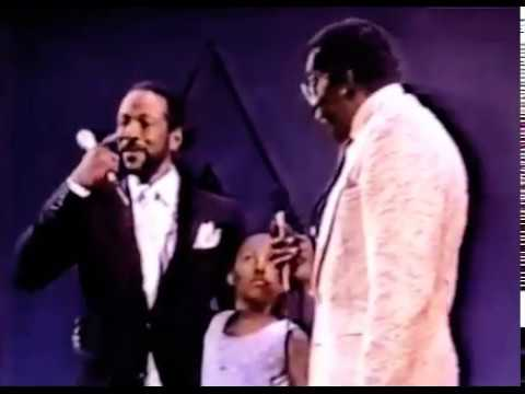 Young Nona Gaye on SoulTrain with Marvin Gaye | 1983