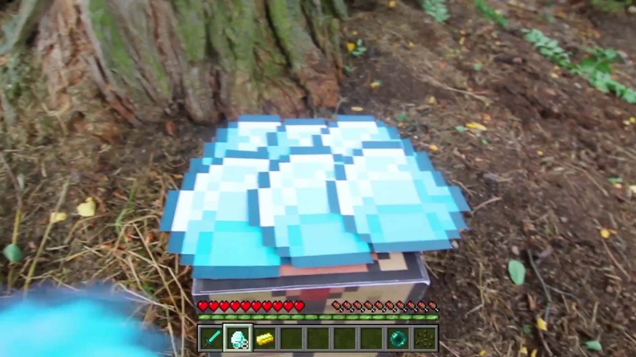 Realistic Minecraft In Real Life Irl Animation Top 5
