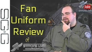 SGC Uniform Review by the The Stargate Guy