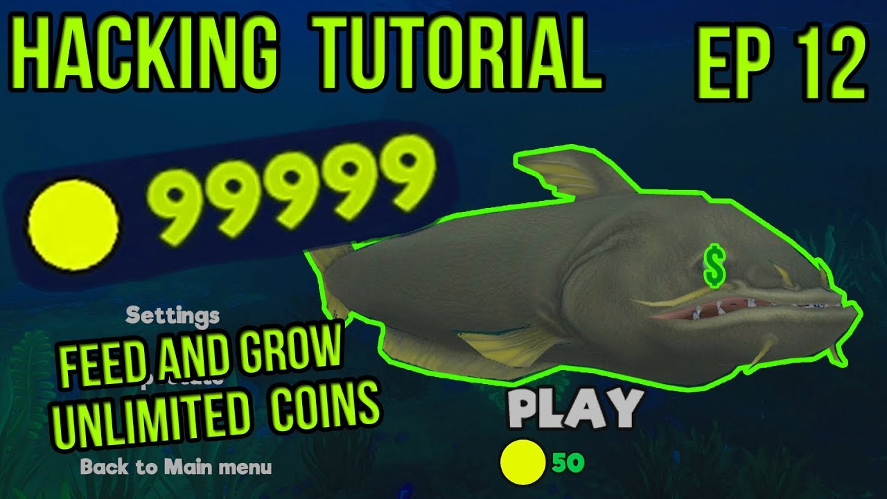 Modding Tutorial | Feed and Grow: Fish | Unlimited Coins