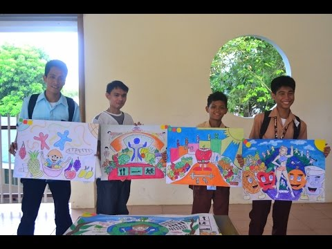 Poster Making Contest 2015 @ Saint Francis College Guihulngan