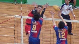 【黒鷲旗2019】サントリーサンバーズ vs FC東京 第1セット