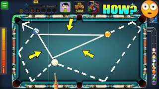 I Made The BERMUDA TRIANGLE SHOT In 8 Ball Pool...it was insane!