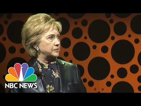 Hillary Clinton Speaks Out On Negative Comments About Maxine Waters, April Ryan   NBC News