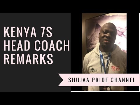 Kenya 7s Head Coach Innocent Simiyu Remarks After Two Games At Vegas 7s 2018