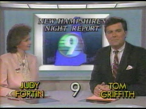 Watch This WMUR News From 1988, Featuring A Youthful Tom