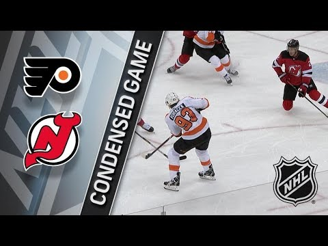 Philadelphia Flyers vs New Jersey Devils – Jan. 13, 2018 | Game Highlights | NHL 2017/18.Обзор матча