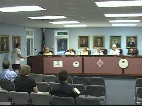 6/28/11, City Council, Isle of Palms, South Carolina