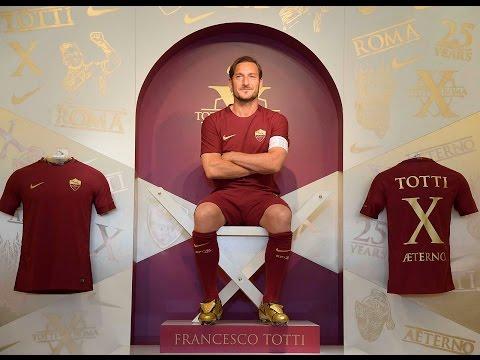 Totti X Tiempo: Francesco Totti unveils special boots at Rome event
