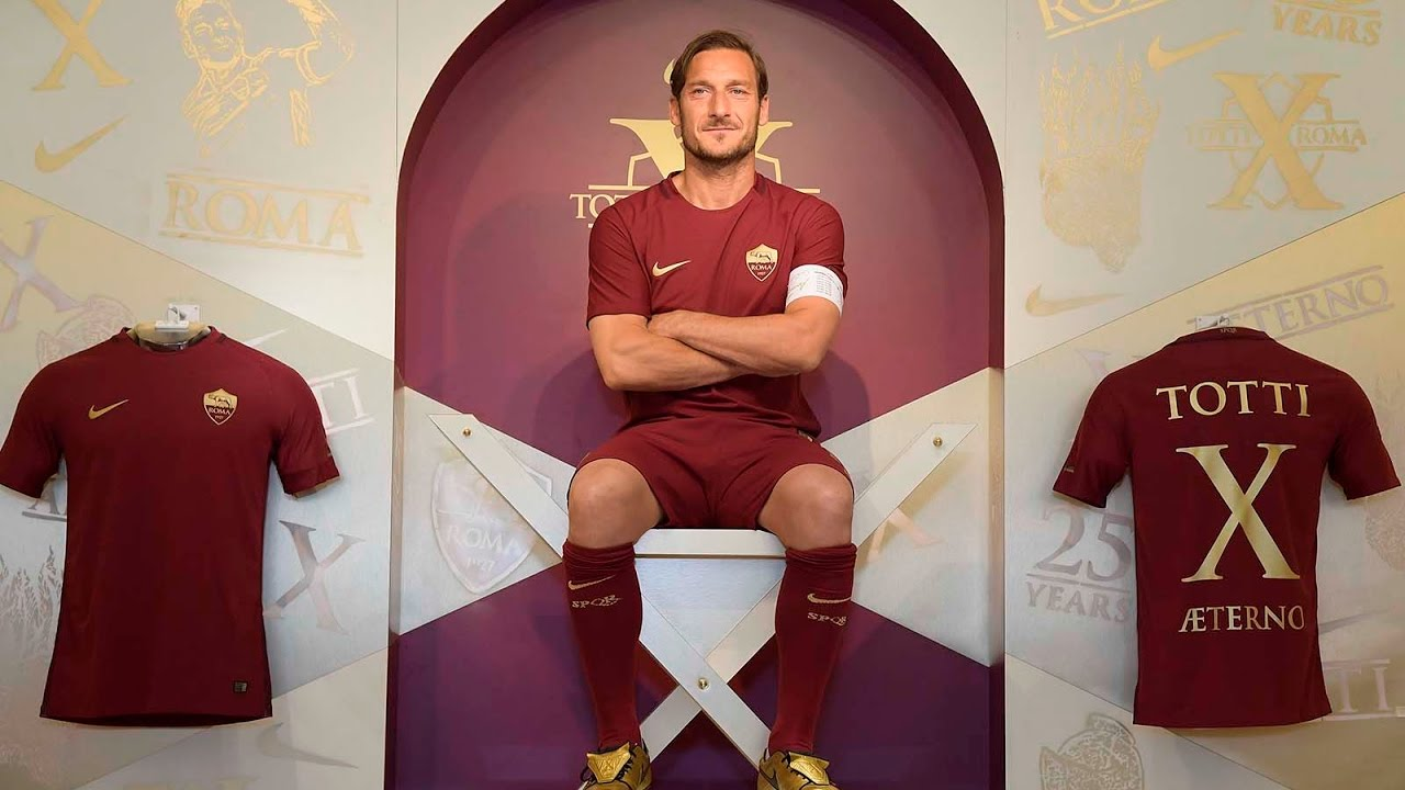 timeless design 6bccf 1393c Totti X Tiempo: Francesco Totti unveils special boots at Rome event