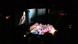 Time To Say Goodbye Andrea Bocelli at Joe Louis arena in Detroit MI December 14th, 2014