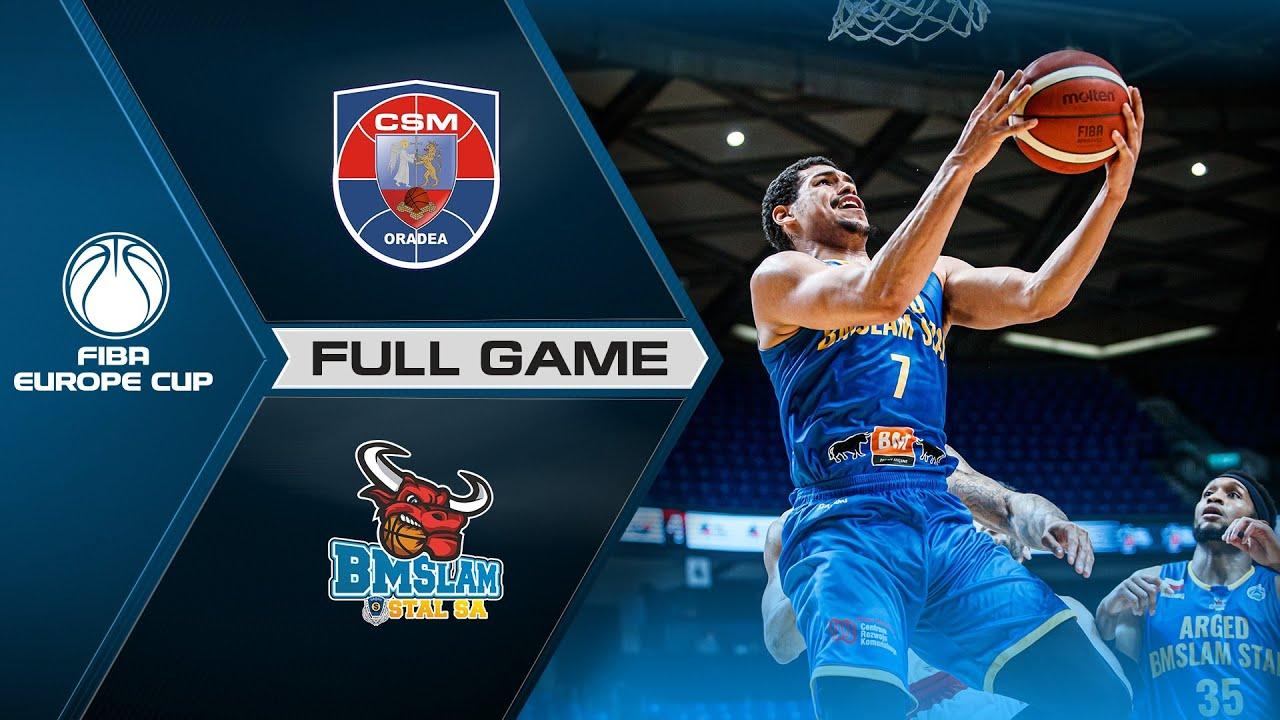 Semi-Finals: CSM CSU Oradea v Arged BMSLAM Stal | Full Game - FIBA Europe Cup 2020