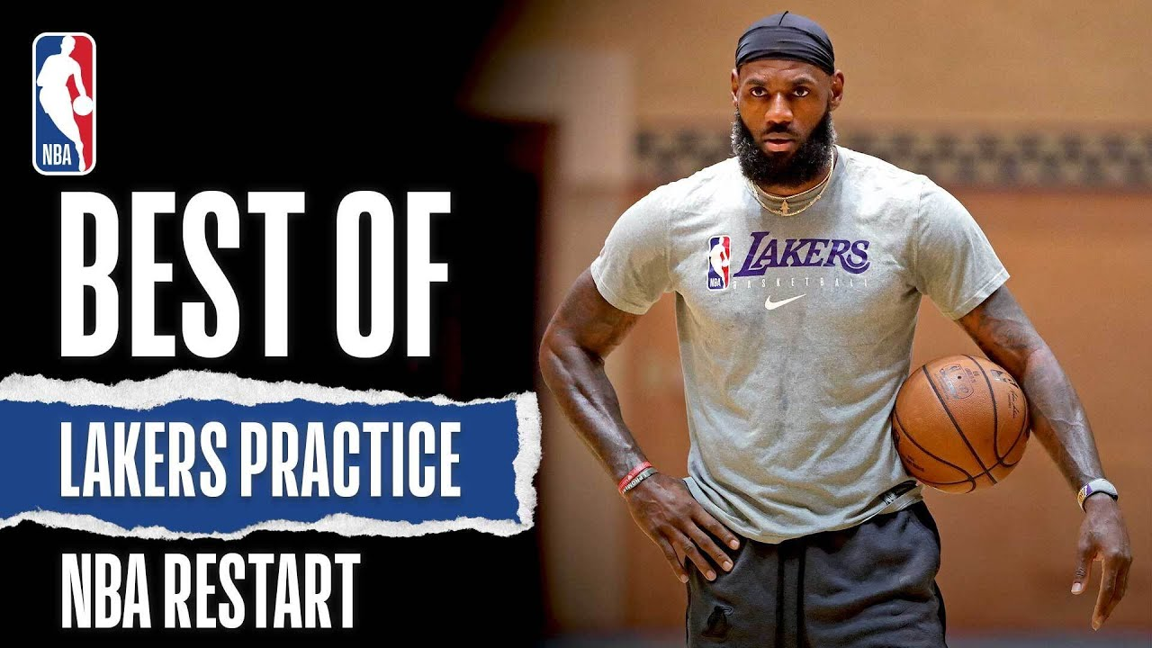Best Of Lakers Practice | NBA Restart