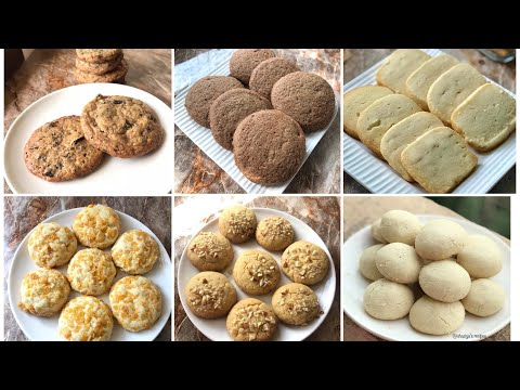 Six delicious and easy to make cookie recipes Christmas cookies recipes