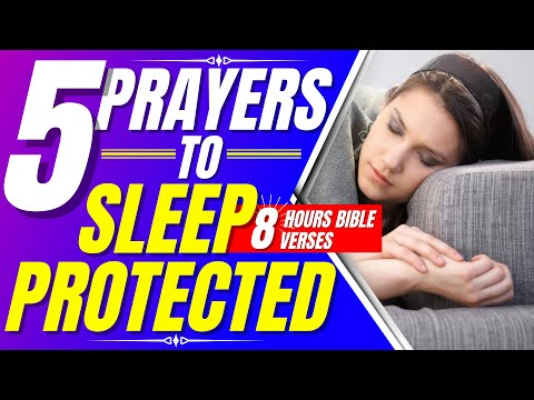 Prayer for sleep - Psalm 91, 121, 59, 27, 35 - Bible Verses for sleep (Sleep with God's Word)