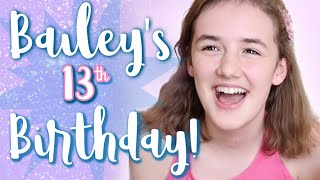 Bailey's Birthday Special - Thirteen Years Old!