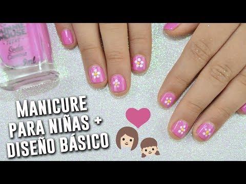 Imagenes de manicure para niñas faciles