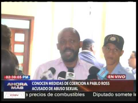 Conocen medidas de coerción a Pablo Ross acusado de abuso sexual
