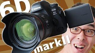 待望のバリアングルモニター付きフルサイズ一眼!Canon EOS 6D mark II がやってきた!