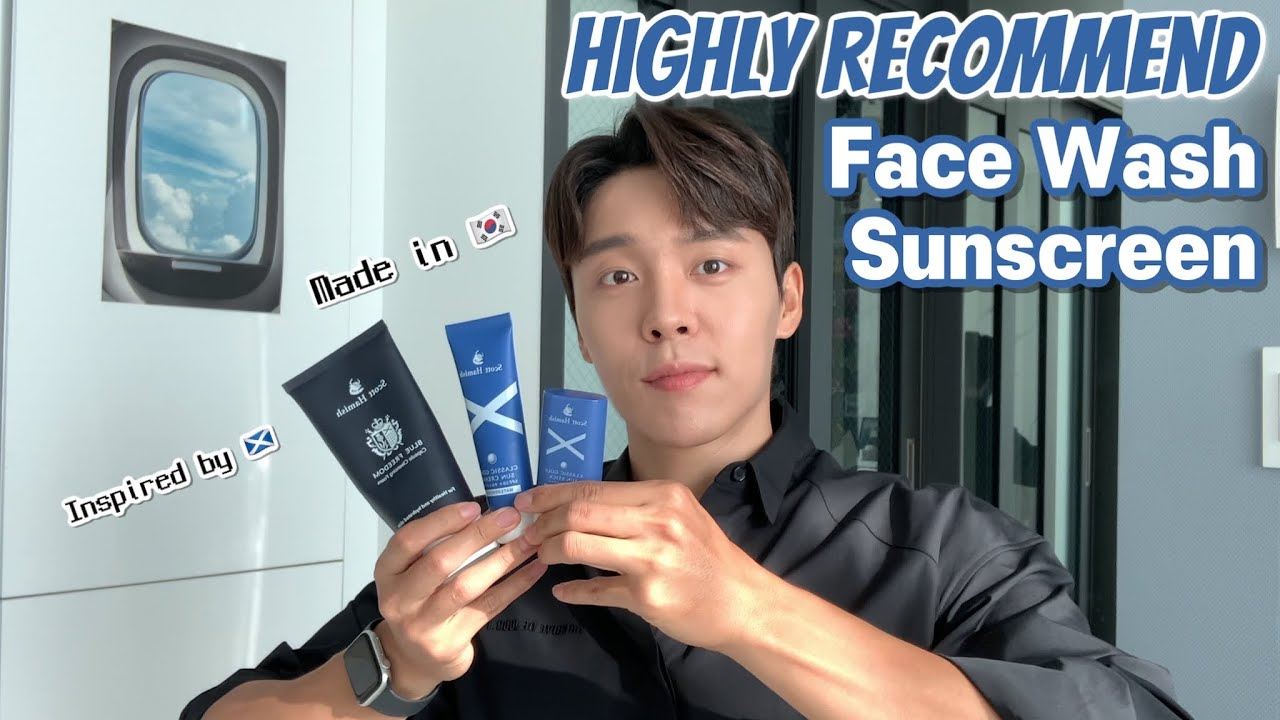 [🇲🇾🇹🇼🇺🇸🇻🇳🇧🇷] Highly recommended sunscreen for oily skin l foam cleanser made in 🇰🇷inspired by🏴