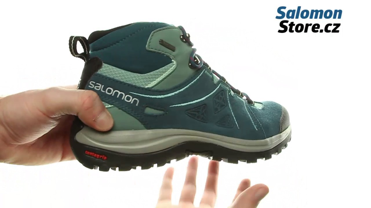 Salomon Ellipse 2 MID LTR GTX W 394734 - YouTube 705e5e783c2