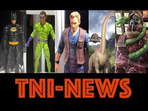 TNINews: Jurassic World Toys, Snake Mountain & DC Multiverse Info From Both Mattel & McFarlane