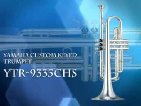 YAMAHA YTR 9335CHS PROFESSIONAL XENO ARTIST Bb TRUMPET, SILVER LACQUER  FINISH