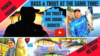 POWER FISHING FOR BASS & MONSTER TROUT
