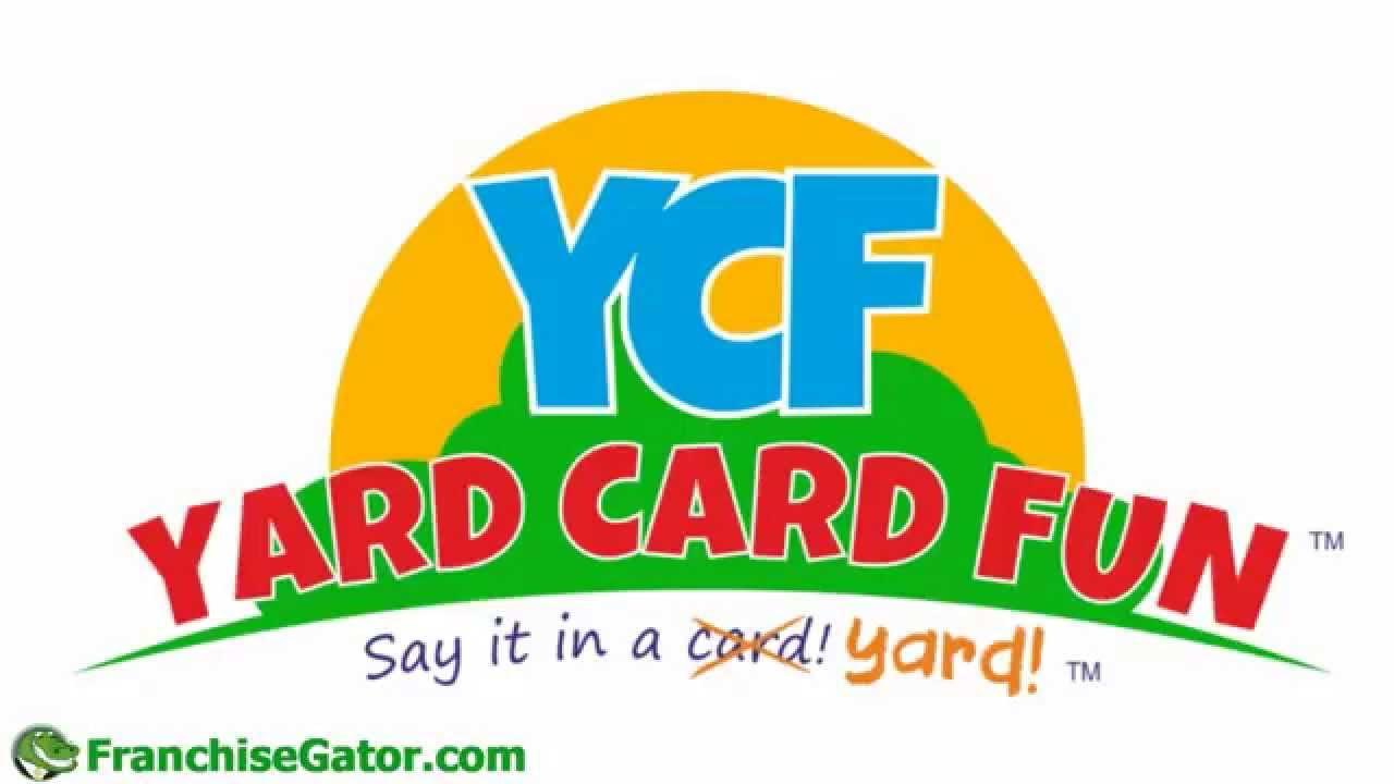 Yard Card Fun Franchise Opportunity Youtube