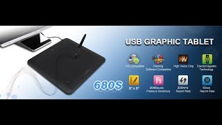 HUION 680S USB GRAPHIC TABLET