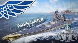 World of Warhammerships   Ignis Pugatio Battleship - Let's Try World of Warships