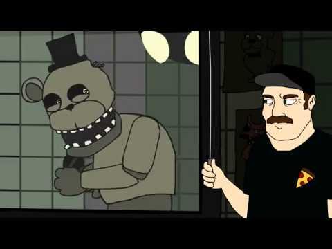 Очень смешное видео про 5-ночей с Фреди