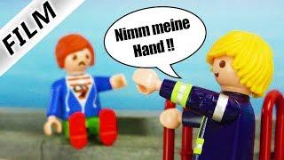 Playmobil Film deutsch | JULIAN VOM DACH - Feuerwehr Einsatz wegen Versteckspiel | Familie Vogel